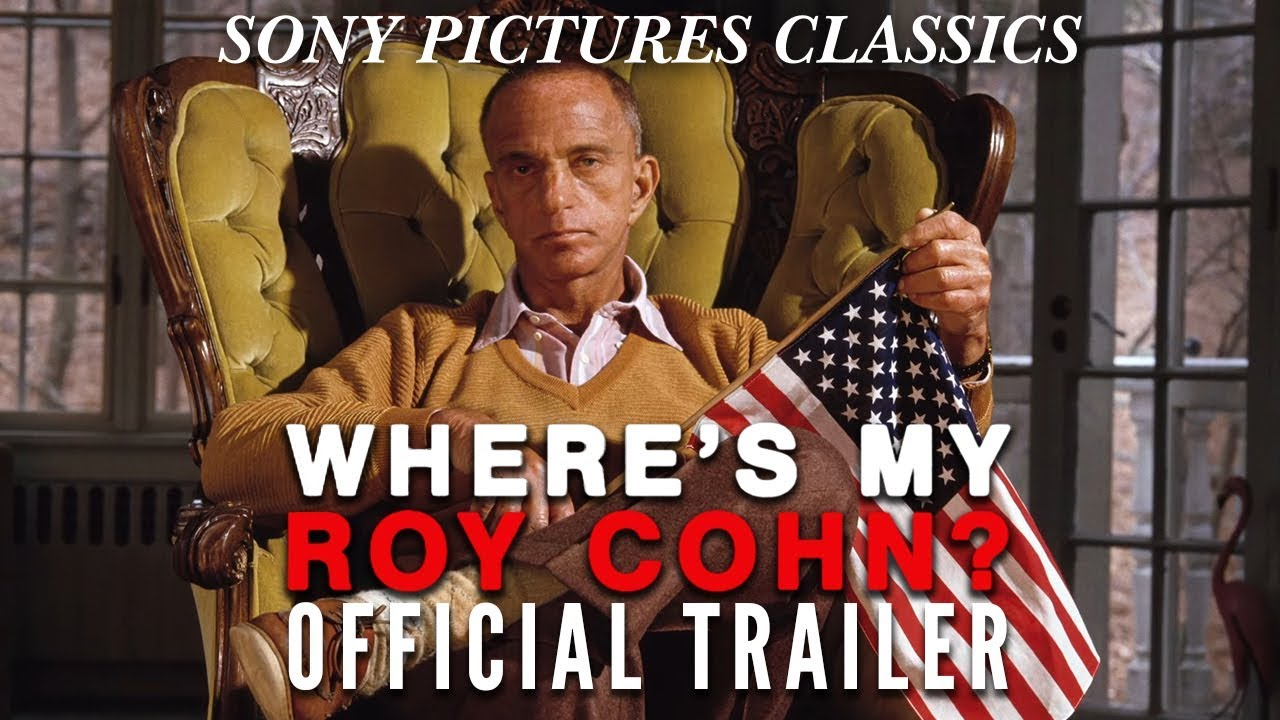 trailer Where's My Roy Cohn?